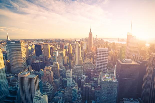 new york au lever du soleil